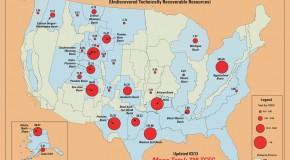 La Geografía de los Recursos no Convencionales en América del Norte
