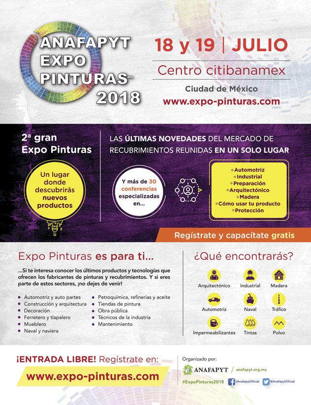 Anafapyt Expo Pinturas 2018